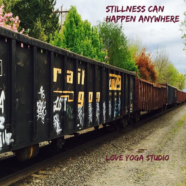 #stillnesshappens @loveyogastudio