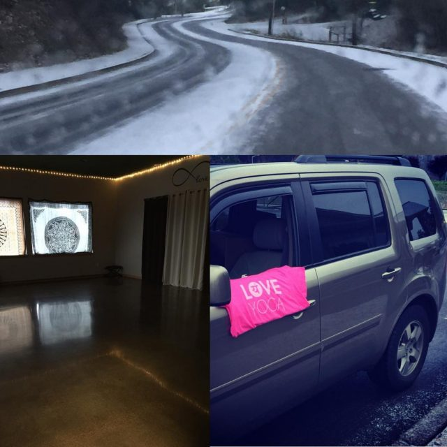 The studios warm and toasty and theloveshuttle is available! Whohellip