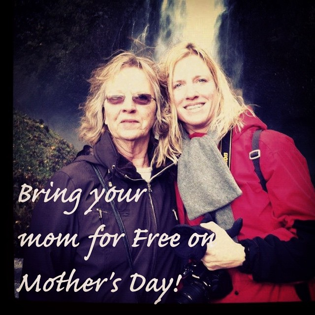 #loveyourmom @loveyogastudio on Mother's Day!