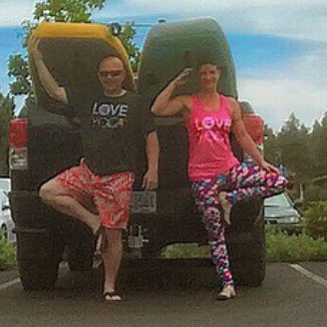 Love love love this picture! Thanks Nate amp Kelly! loveyogastudiohellip