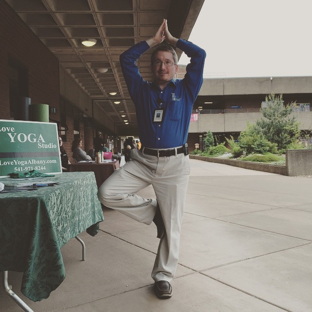 ...and their fearless leader! @lbcc #loveyogastudio