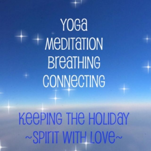 A little holiday love love yoga holiday spirit