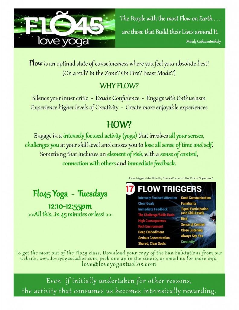 Flo45 green flyer