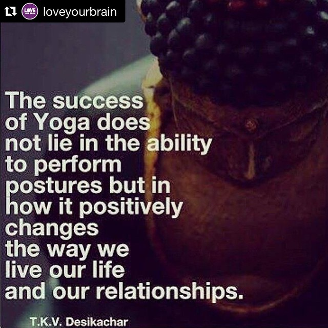 Repost loveyourbrain Let yoga open your mind and open yourhellip