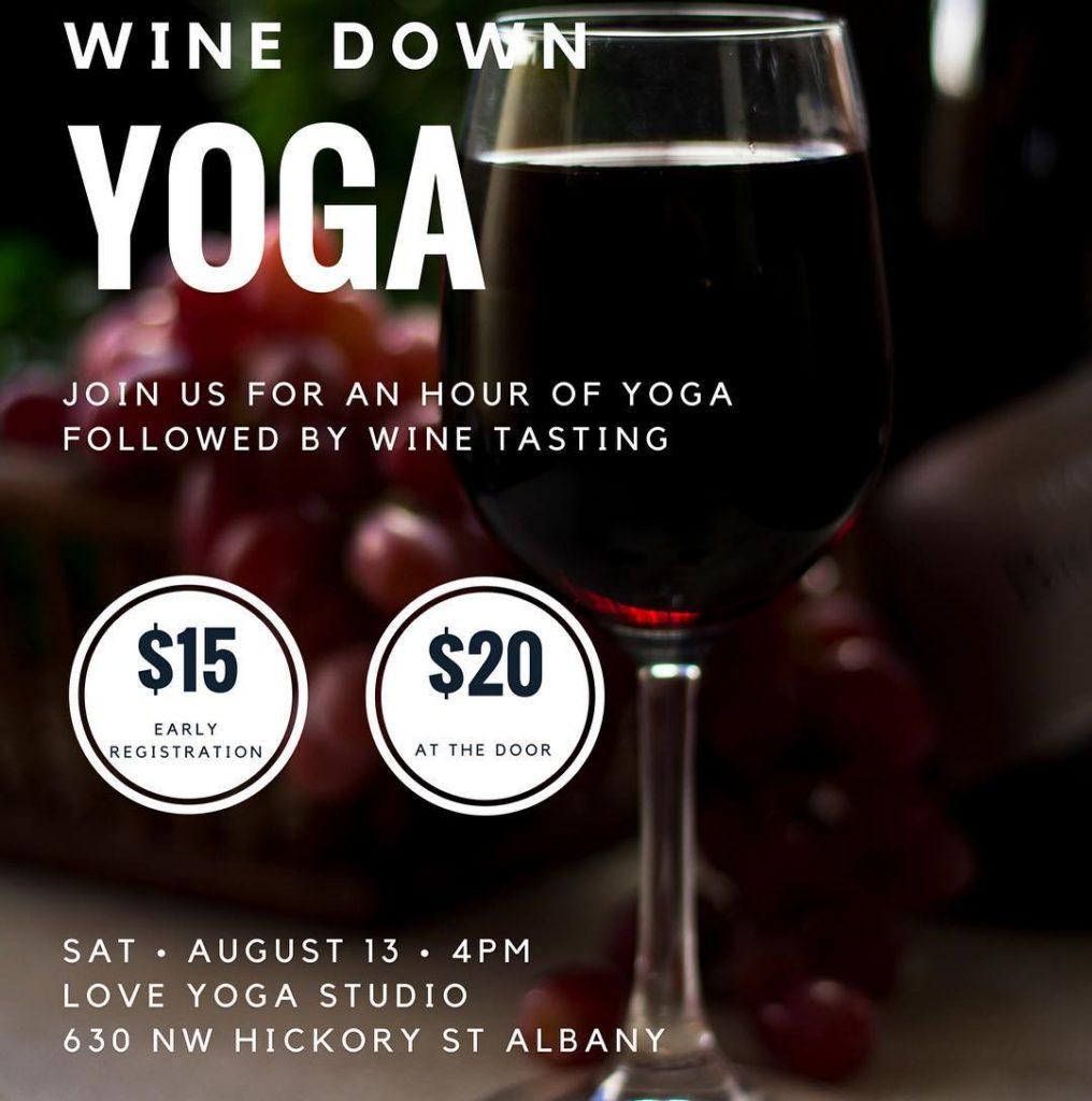 yoga wine love winetasting yogapractice loveyoga