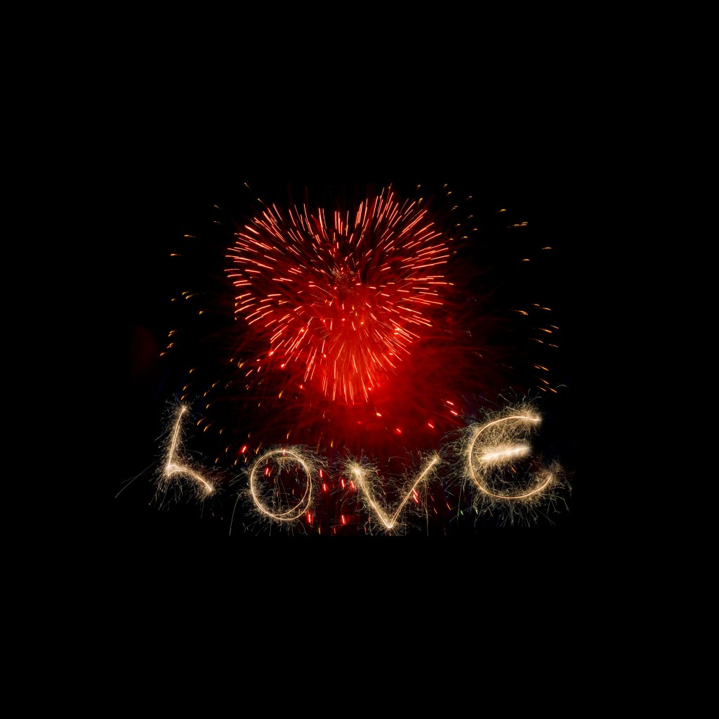 Love fireworks