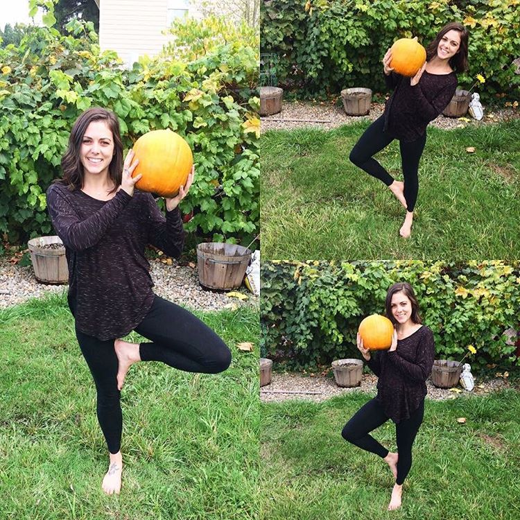 Renae is getting into the pumpkin spirit! We feel strongerhellip