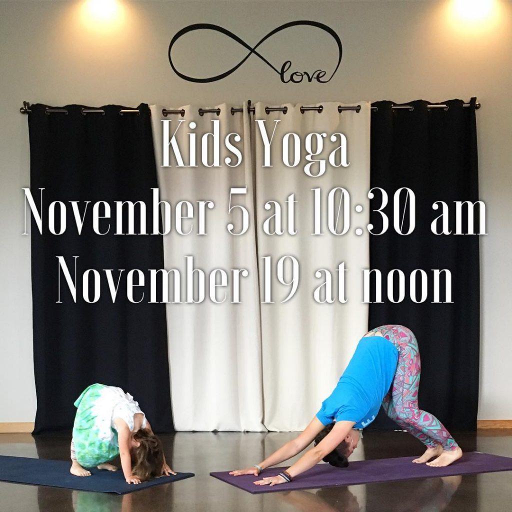 Kids Yoga this Saturday  1030am! Love Yoga Kids stronghellip