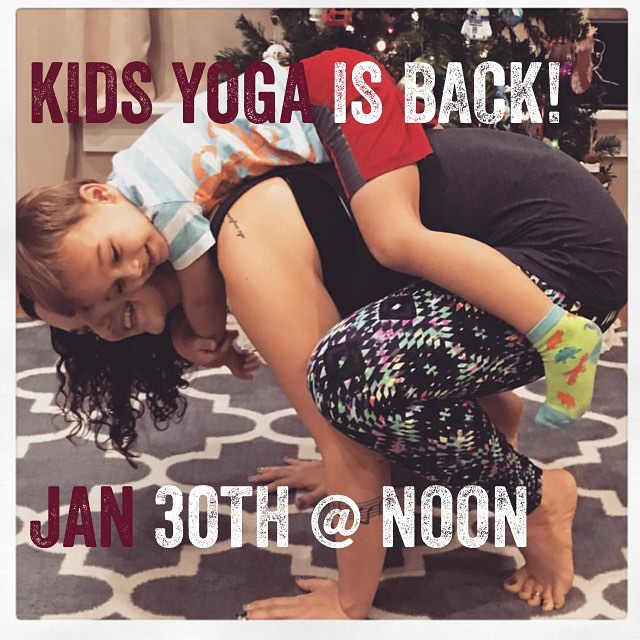 Join your child in this engaging and entertaining yoga sessionhellip
