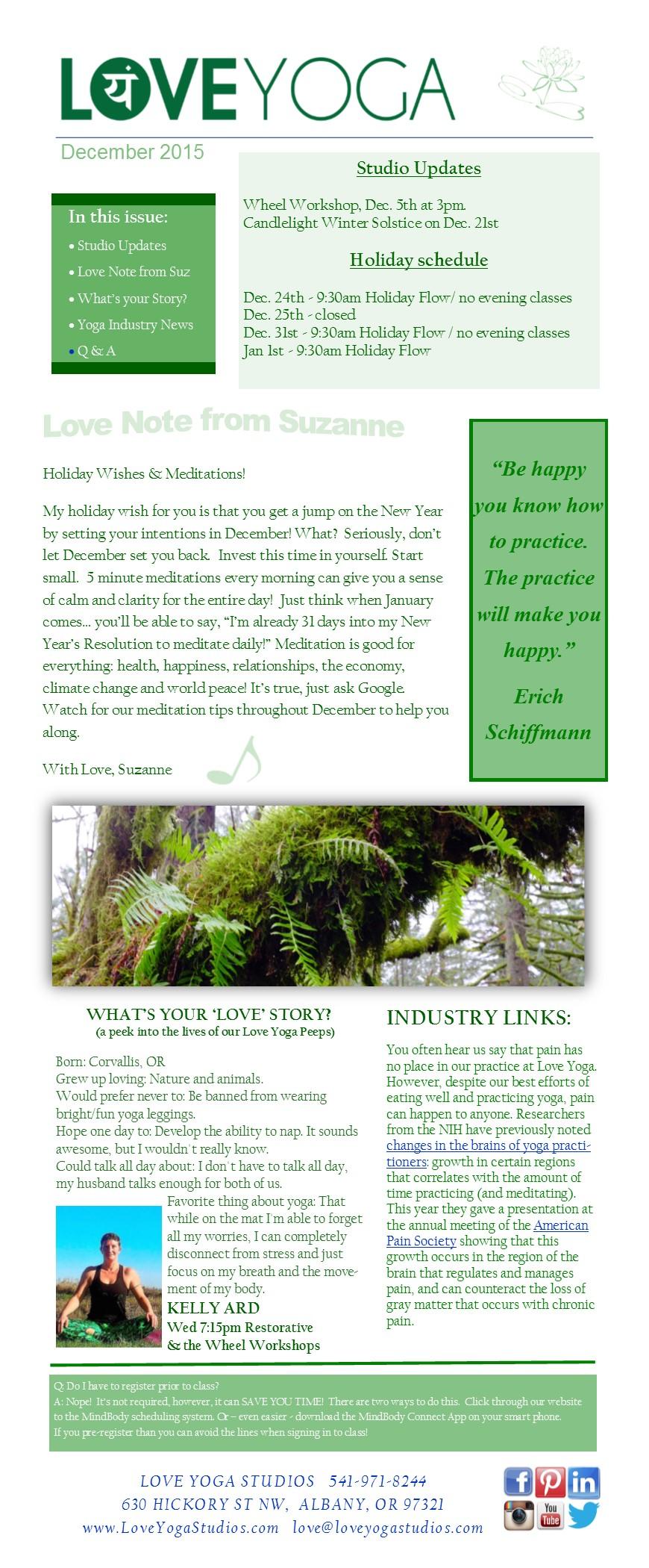 Newsletter 1215