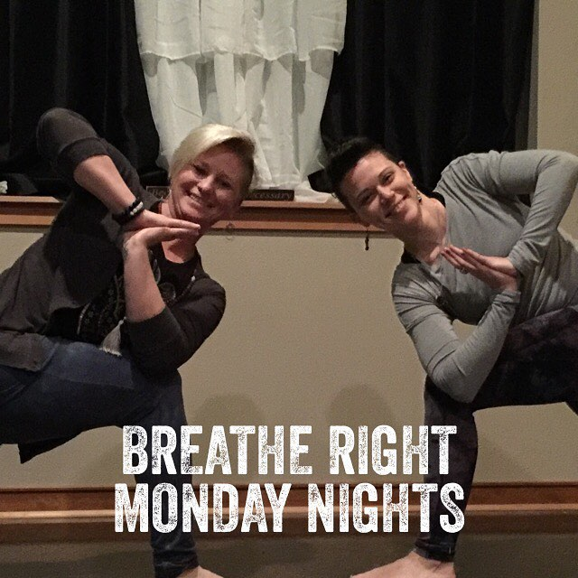 Gentle and Power tonight with Sabrina and Erin love yogahellip