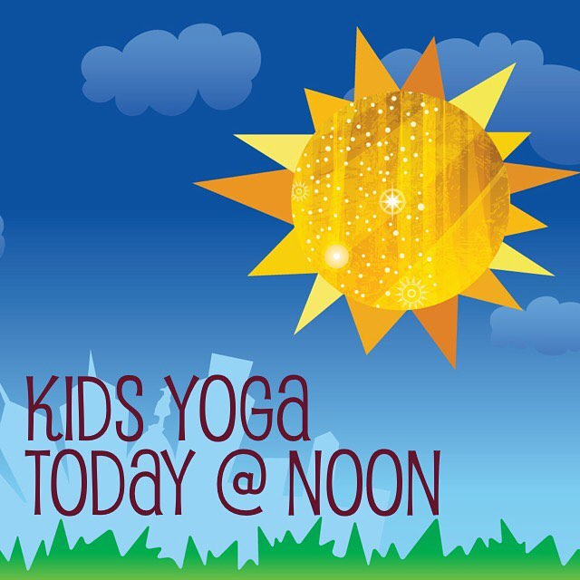kids love yoga too!