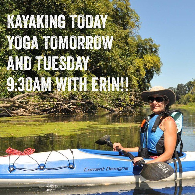 Practice with Erin on Monday and Tuesday mornings! love yogahellip