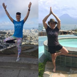 From San Fran to Guatemala our peeps are sharing the love! #Love #Yoga #SanFrancisco #Guatemalan #LoveTravel #TravelWithLove #WhereIsTheLove #ShareTheLove