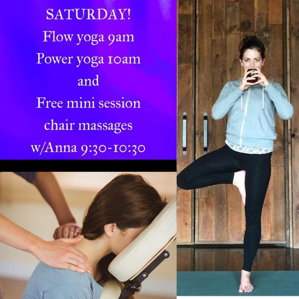 Power yoga with Renae tomorrow at 10am!! And free minihellip