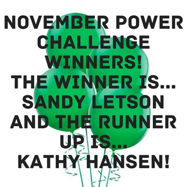 We have winners for our Power Yoga Challenge for November!hellip