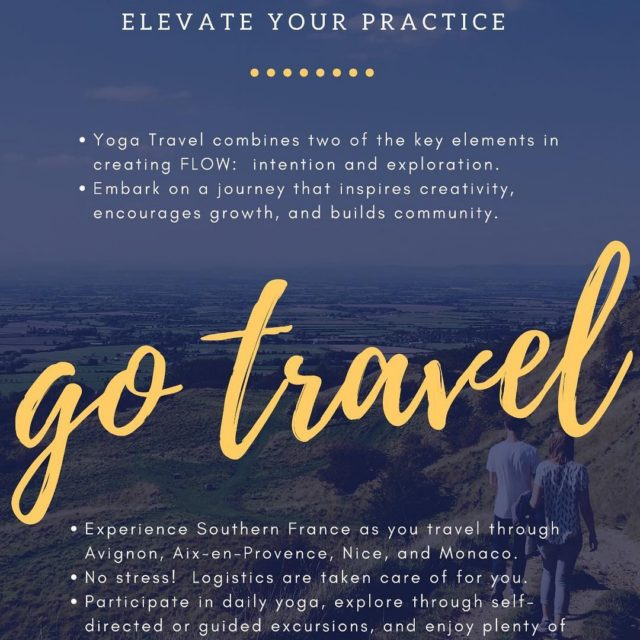 Travel with Love Travel with friends love yoga france frenchyogatourhellip