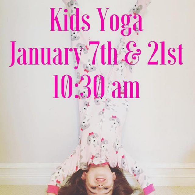 Dont forget there is kids yoga this weekend! love yogahellip