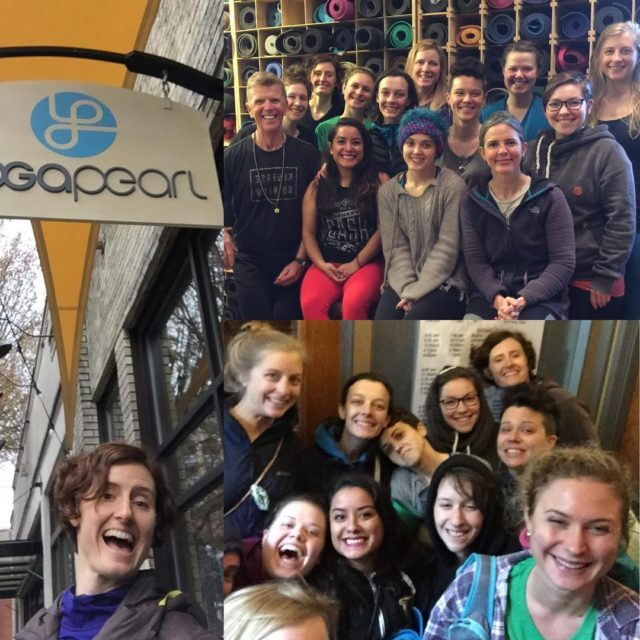 Portland Yoga Tour 2017! Teachers in training visited yoga studioshellip