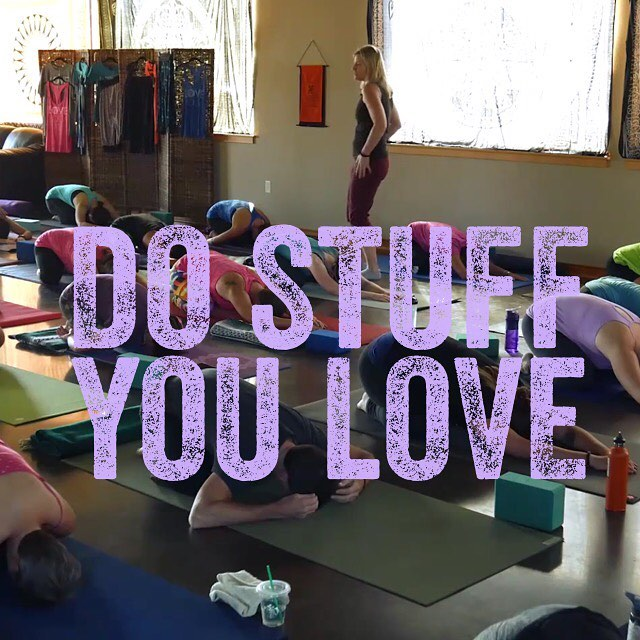 Every Single Day love yoga loveyogastudio morelove lessstress dowhatyoulove