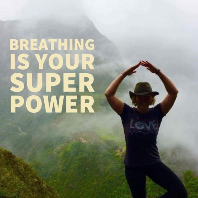 Breathe slow to activate powers Love Yoga LoveYoga Breathing SuperPowerhellip