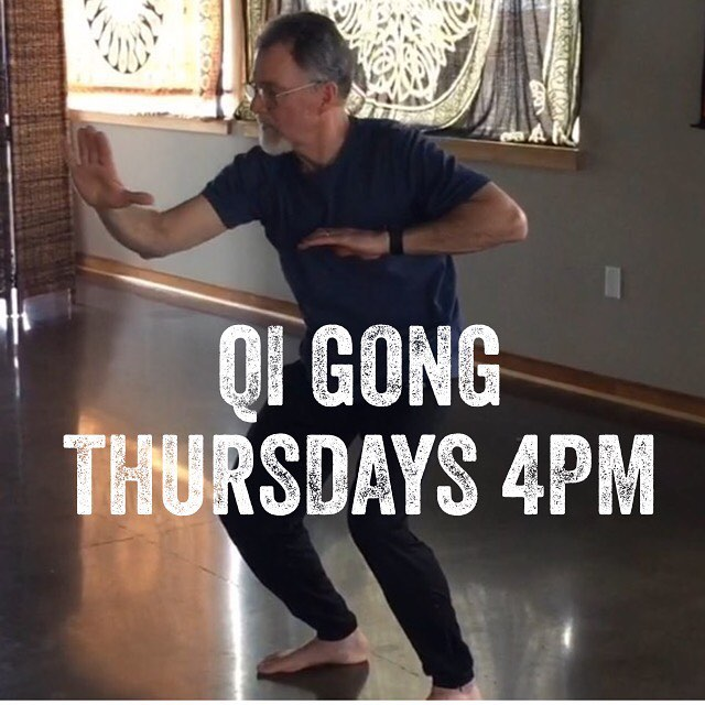 Qi Gong with Jerry is a powerful yet gentle practicehellip