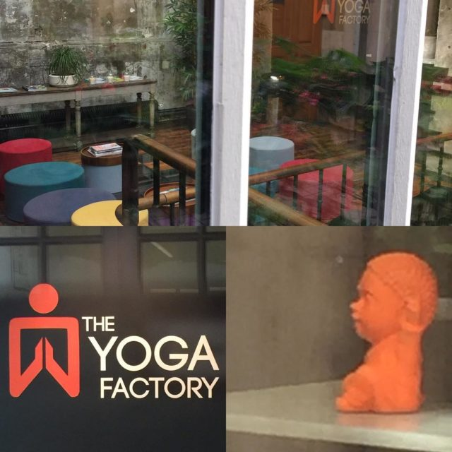 First stop yoga research at theyogafactoryparis in Le Marais districthellip