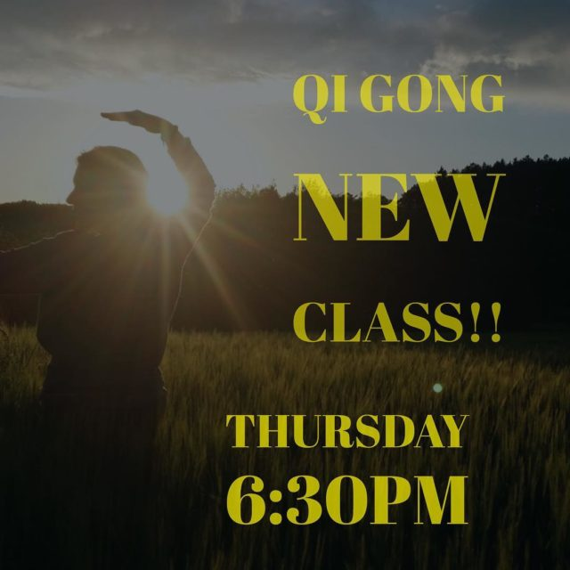 New Time for Qi Gong! Tomorrow night at 630pm andhellip