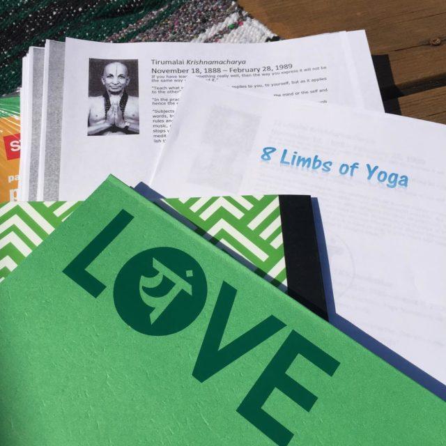 Yoga School starts tomorrow! schoolsupplies loveyoga vinyasa flow relaxation meditationhellip