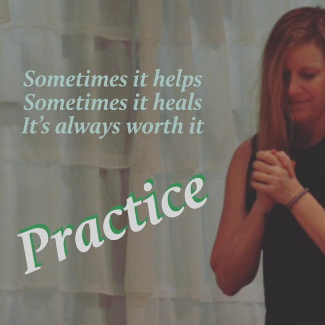 Practice makes peaceful Every Wednesday with Suzanne 930am flow 430hellip