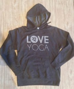 Love Yoga Hoodies from Love Yoga Studios in Albany, Oregon