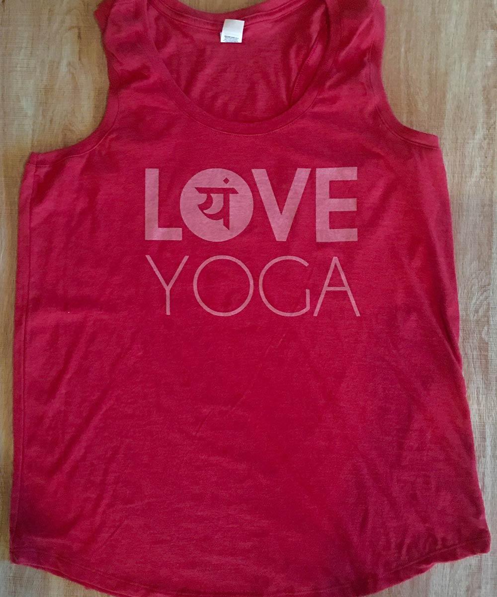 Love Yoga Tanks from Love Yoga Studios in Albany, Oregon